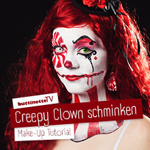 Schminkanleitung: Horror Clown