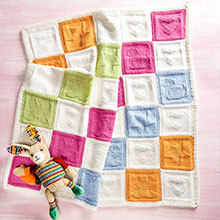 Patchworkdecke aus Woolly Hugs Charity