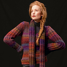 Pullover aus Lang Yarns West