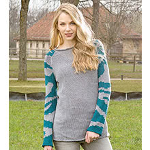 Pullover im Camouflage-Muster aus Woll Butt Primo Elena