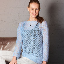 Pullover im Ajourmuster aus Woll Butt Primo Sophie