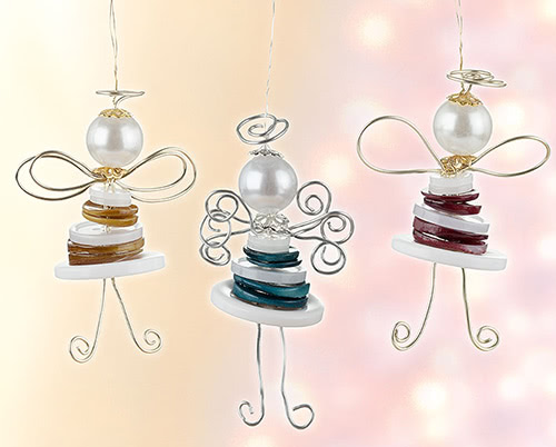 Anges en boutons